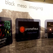 Black Mesa Imaging, LLC's trade show display